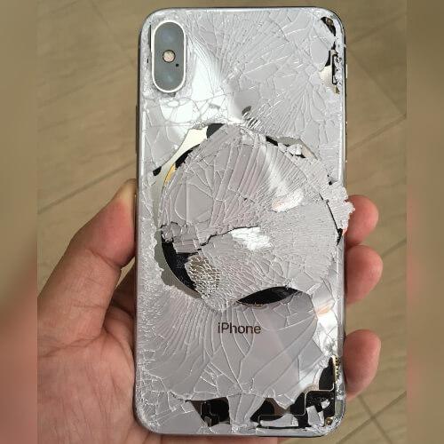 Gebroken achterkant iPhone XR vervangen